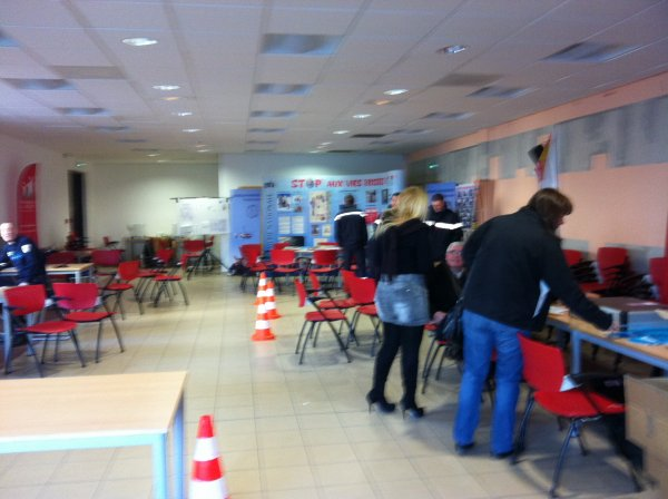 semaine de la sécurité routière à SETE ET BEZIERS ..MANIFESTE DES FEMMES A MONTPELLIER