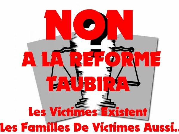 NON A LA REFORME TAUBIRA