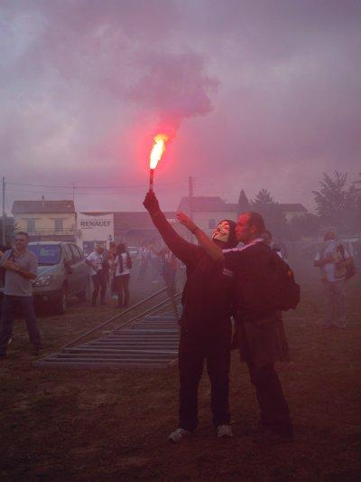 27 octobre 2013 à Rodilhan : première manif anti-corrida !