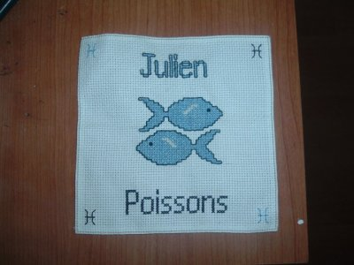 Ouvrage n°5: Poissons Julien