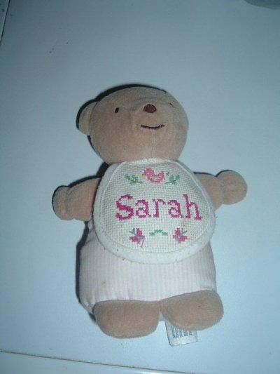 Ouvrage n°9: Doudou Sarah
