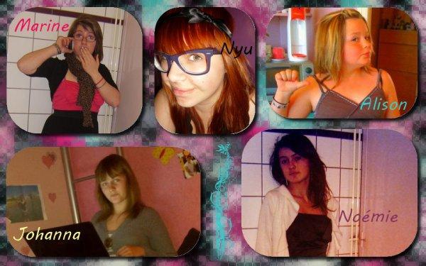Moi , Ma femme , Alison , Ma Meilleure  , Manon
