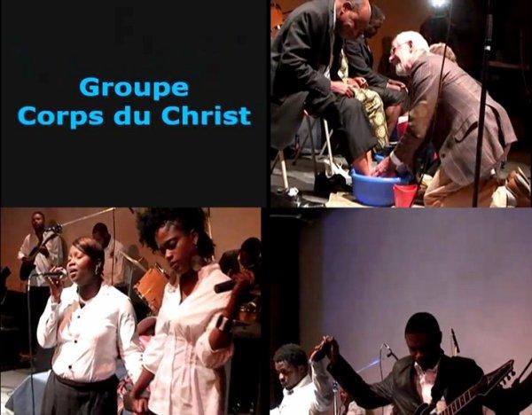 Découvrez le groupe Corps du Christ
