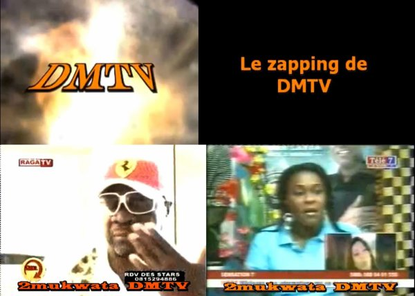 Zapping avant de commencer le week end sur DMTV