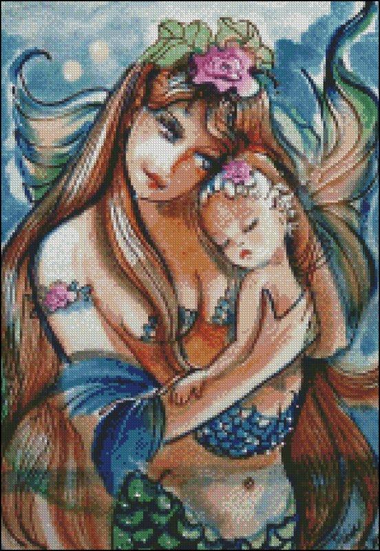 C'est tellement beau l'amour d'une mère