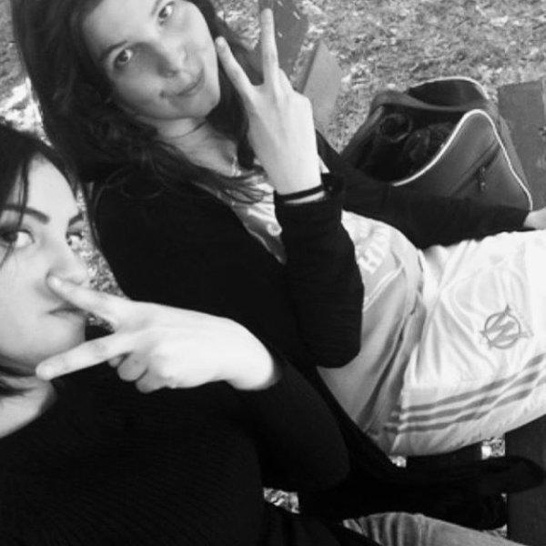 C'est le duo le plus infernal on ne fait plus qu'un #Yasmiinee