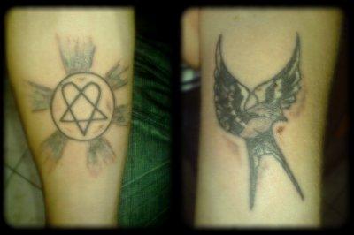 mon new tatoo et celui de ma femme