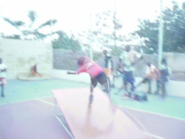 chris en Salto Criosh