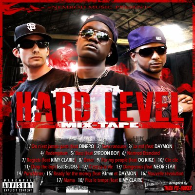 HARD LEVEL mix-tape du NEMROD GANG disponible en téléchargement gratuit