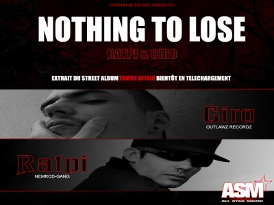 FAMILY AFFAIR / Nothing to lose (Ratpi & Ciro) (2011)