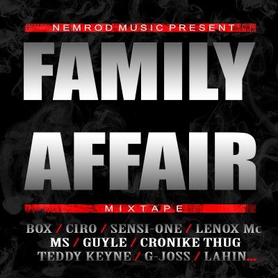 FAMILY AFFAIR mix-tape du Nemrod Gang disponible en téléchargement gratuit