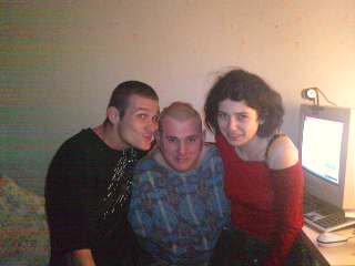 mon mec avec mon beaux frere et ma belle soeur