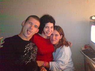 moi et ma belle soeur et mon beaux frere