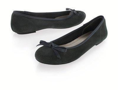 Ballerines noires Miss Coquine