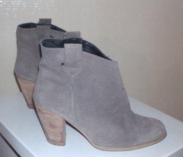 Bottines taupe Cable