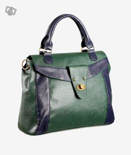 Sac cartable bicolore Etam