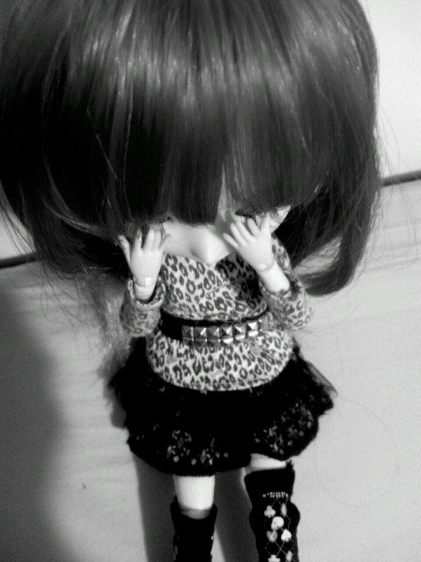 La tristesse...