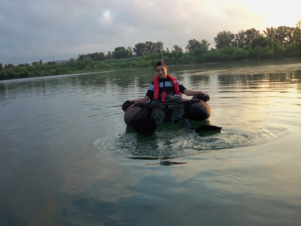 1ere SORTIE FLOAT TUBE