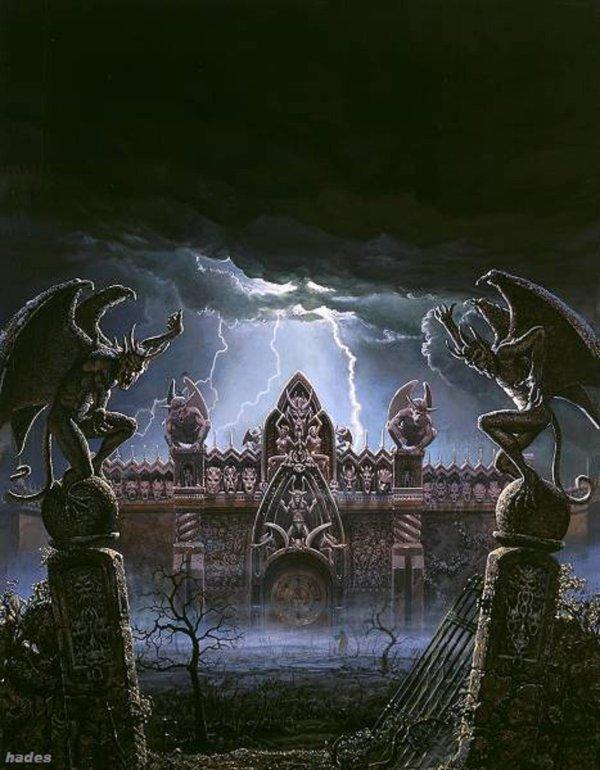 la maison de l'enfer
