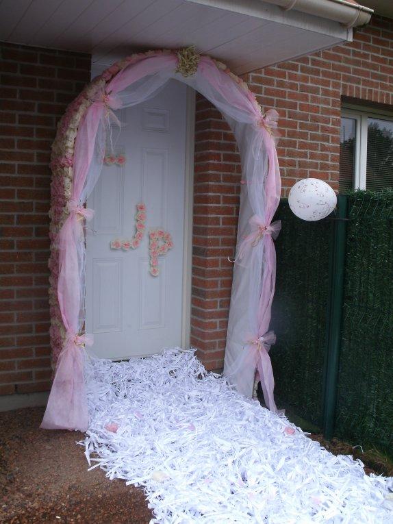 Mariage linda le 25 juin 2011 jonchure fausse porte for Comment decorer une porte plane