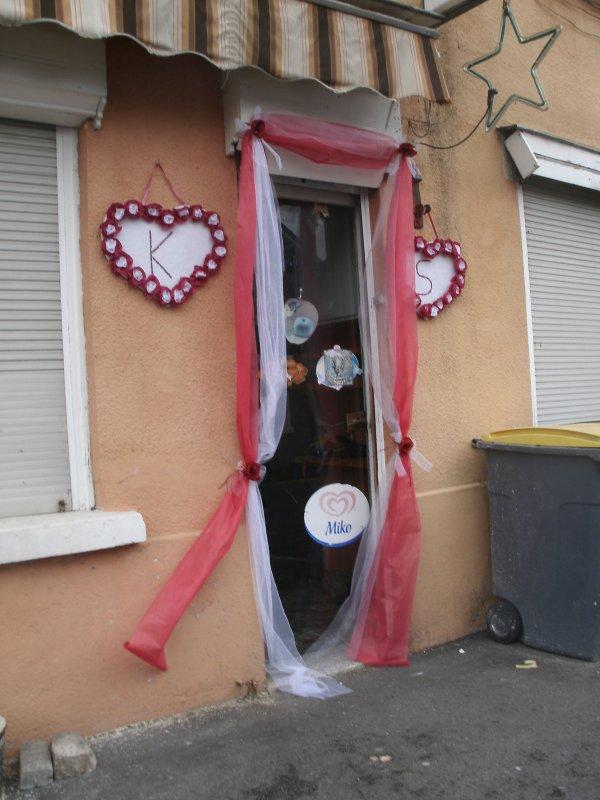 15 septembre 2012 jonchure fausse porte mariage for Decoration fausse porte mariage