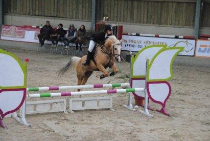 Laura & Saphir , Flemalle Le 24 Octobre 2O1O :) Ils ont fait 2 correctes , Fort bien donc :)