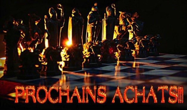 Prochains Achats