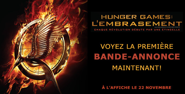 La Bande Annonce Officielle de Hunger Games: L'Embrasement