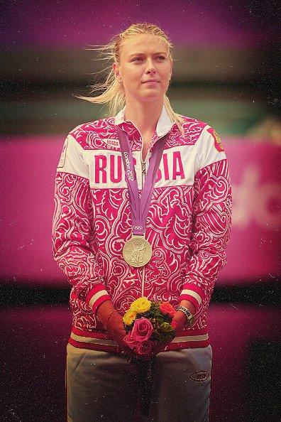 Maria SHARAPOVA médaille d'argent aux Jeux Olympiques 2012. So Nicely !!!
