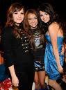 Myley Cyrus Selena Gome et Demi Lovato