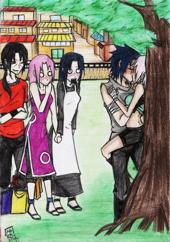 Famille de la nouvelle génération (1) Famille Uchiha