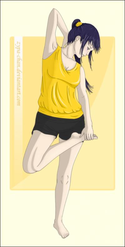 Konoha fait du Sport.
