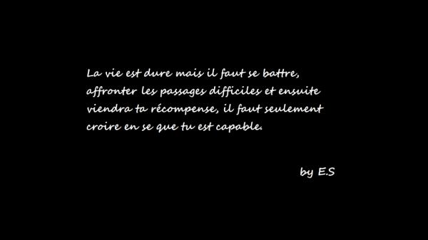 #La vie #Continue #E.S