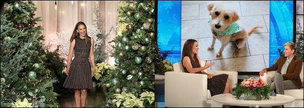 05.12.2018 : Natalie  était présente sur le plateau de Ellen Degeneres lors de l'émission «  The Ellen Show  »