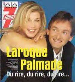 Michèle Laroque et Pierre Palmade