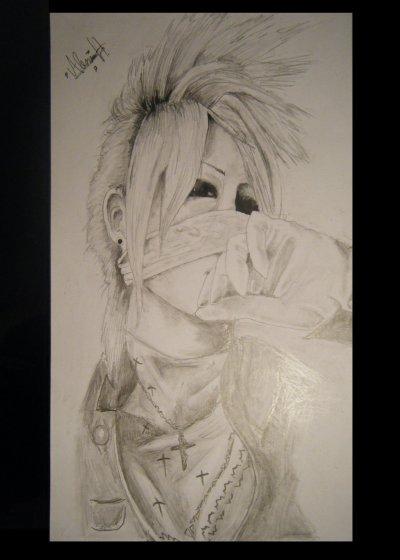 Reita portrait (crayon de papier)