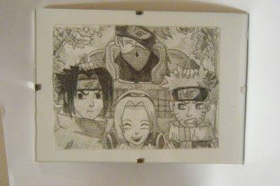 Team 7,la photo (crayon papier)