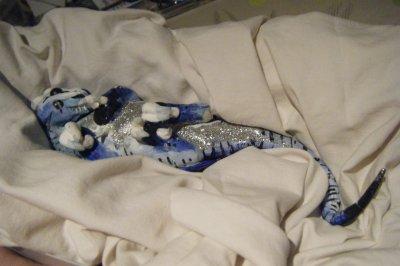 realistic:bébé dragon (argile)
