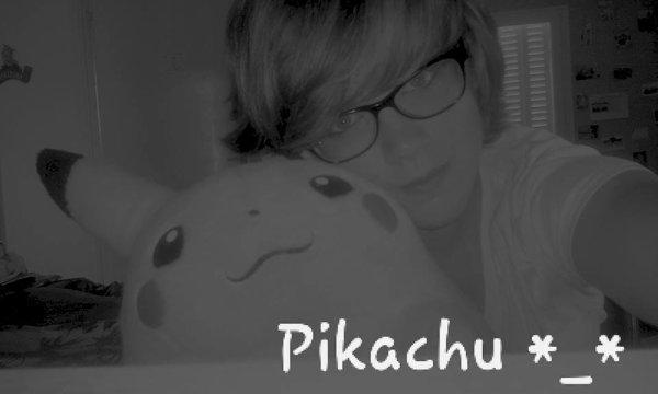 Mon Pikachu *__* ♥