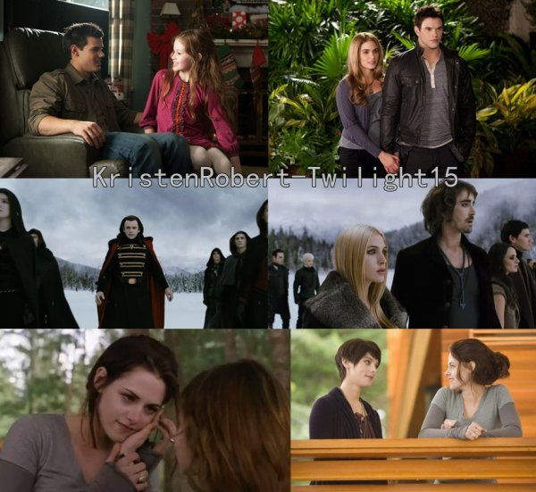 Quelques Images De Breaking Dawn Partie 2 .