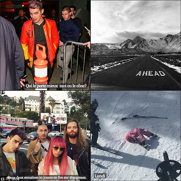 . Joe Jonas||Il a posté quelques photos sur Instagram ces derniers jours, les voici. || 18/01/16 .