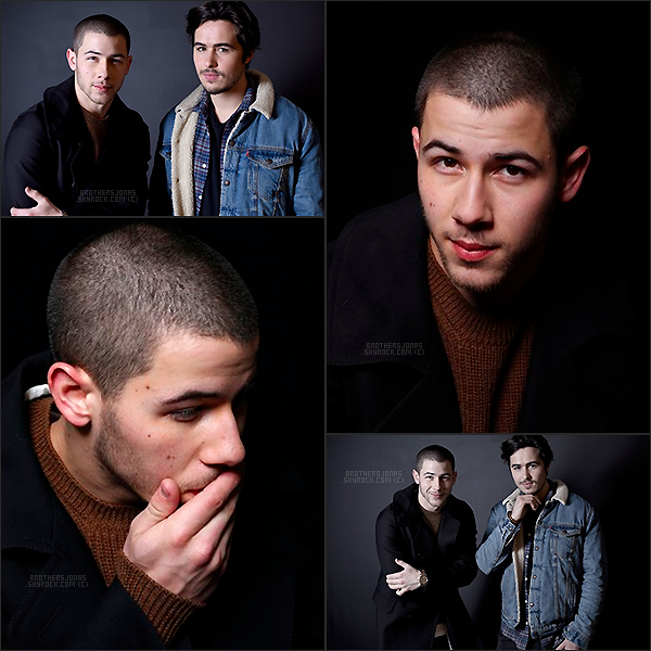 . Nick Jonas|| Photoshoot réalisé lors du festival du film à Park City.|| 22/01/16 .