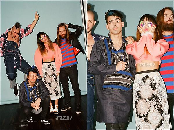 . Joe Jonas|| DNCE ont fait un photoshoot pour le magazine Nylon.   || 26/01/16 .