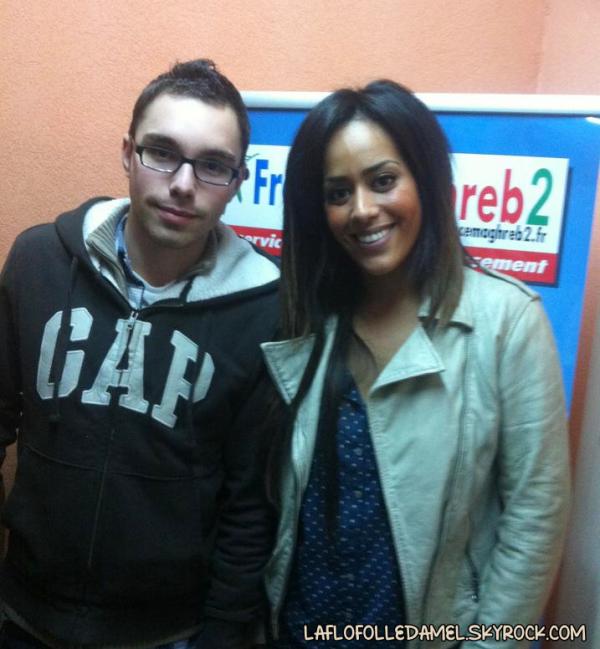 ● Amel sur Radio France-Maghreb [26.01.12] ●