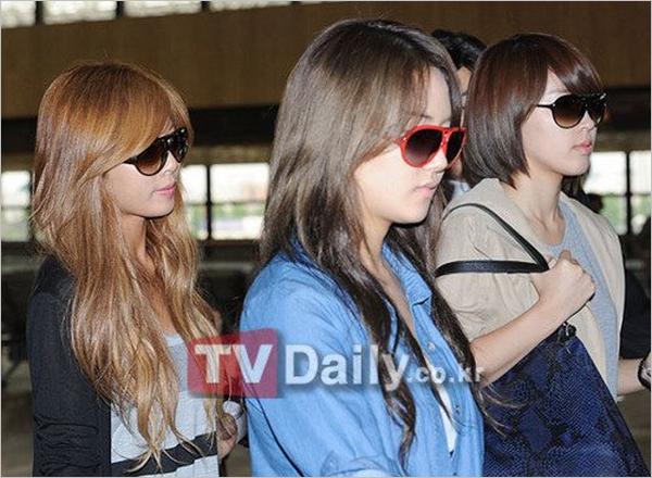 les filles ont été vu a l'aéroport.