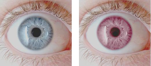 Pour vous j'ai essayé plusieurs façon de changer la couleur des yeux et voici les 2 meilleures