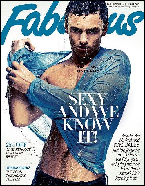 """Découvre un photoshoot de Tom pour le magazine """"Fabulous"""" du mois de Juillet-Aout 2012."""