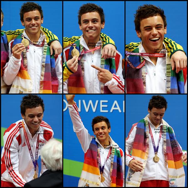 12 Octobre 2010 - Tom était aux Commonwealth Games, à Delhi en Inde.