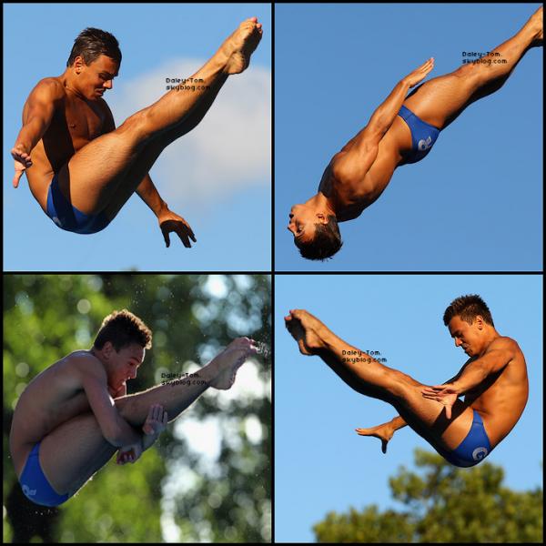 14.08.2010 - Tom se trouvait aux Championnats Européens à Budapest avec la team GBR.