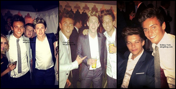 Tom & les One Direction.